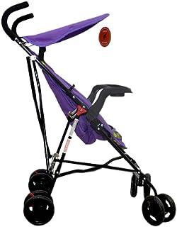 عربة الأطفال خفيفة الوزن وسهلة الحركة لون موف