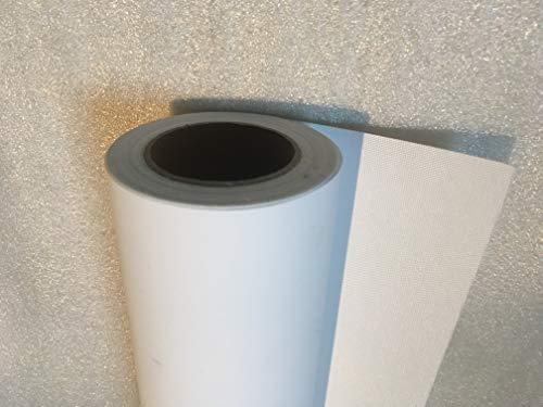 Querfarben 1 Rolle Canvas Leinwand Polyester für Drucke weiß matt 260g/qm | Verschiedenen Breiten (0,61 m x 30 m)