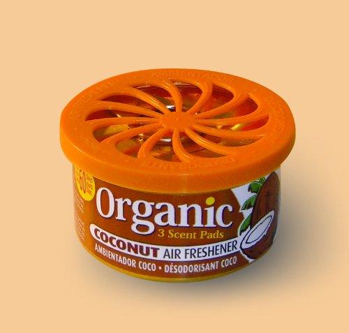 Organic Can Autoduft die Duftdose fürs Auto - Kokosnuss Coconut