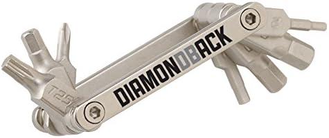 Diamondback Road Atlanta Mall Micro Tool-8 Tool Silver Bicycle Multi 100% quality warranty