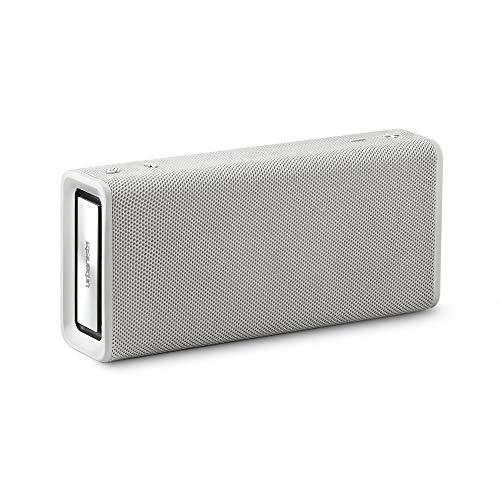 Urbanista Brisbane Kabelloser Lautsprecher, Bluetooth 5.0, 10-Stunden-Spielzeit, spritzwassergeschützt, 16W Lautsprecherleistung, tragbar - Weiß