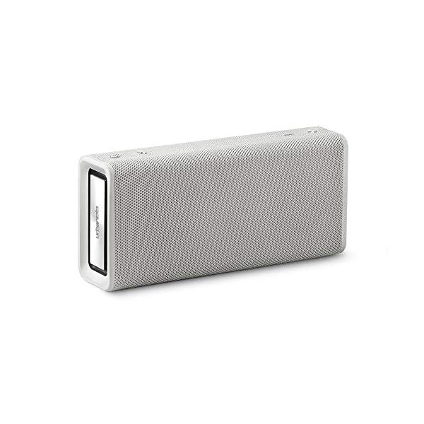 Wireless Speaker, Bluetooth 5.0, 10-Hour Play Time, Splash-Proof, 16w Driver Power, Portable – White 3