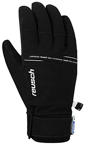 Reusch Herren Logan R-TEX Handschuhe, Black/White, 8