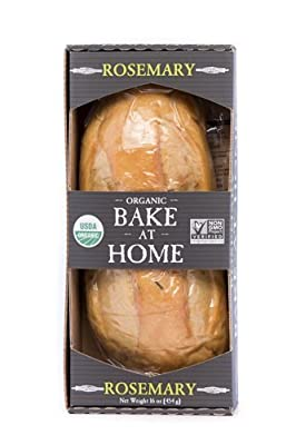 Essential Baking Company Organic Bread, Rosemary, 16 oz