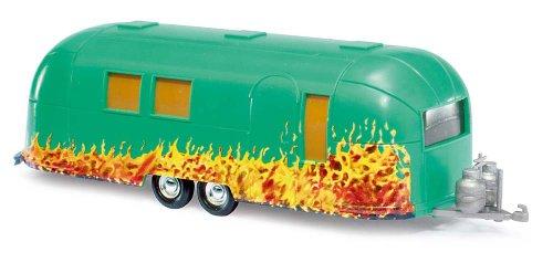 Busch Voitures - BUV44983 - Modélisme Ferroviaire - Caravane Air Stream