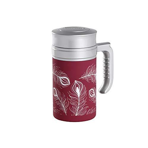 TEA SHOP - Termo con Filtro - Travel Tea Turkey Burgundy - 350ml - Otros complementos