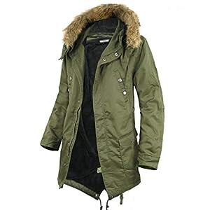 Ragtime Select モッズコート メンズ コート ボア 裏ボア 大きいサイズ ハーフコート 暖か 冬 カーキ 4L