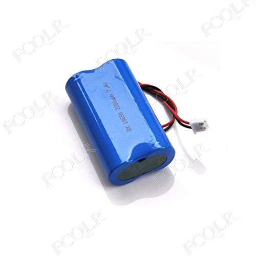 FCQLR Compatible para 7.4V 18650 Lithium Ion Rechargeable batería ...