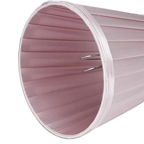 Pelnotac Cubierta de luz de pared, 6 pantallas de repuesto para bombilla E14 interfaz de pared, pantalla de techo, color rosa y morado