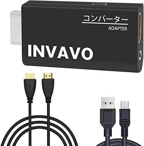 INVAVO製 PS2専用HDMI接続コネクター PS2 toHDMI 変換アダプターHDMI出力 携帯便利 PS2 TO HDMI CONNECTOR ...
