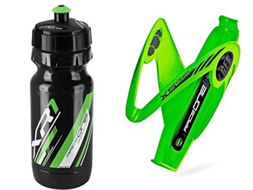 Bouteille deau de v/élo XR1 KIT Race Duo X1 Cycling//VTT//Gravel : Porte-Bidon pour V/élo X1 2 PCS 100/% Made in Italy Raceone.it