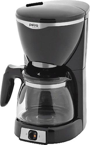petra electric Kaffeeautomat KM 600.07/1066240001 schwarz/edelstahl