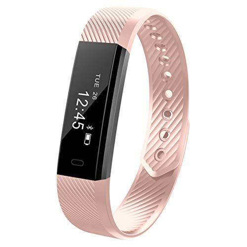 CCJIANI Top Smart Bracelet Step Counter Fitness Smartband Alarm Clock Vibration Wristband PK Id107 Fit bit Miband2 Watch Heart PK S5 Y5