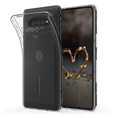 kwmobile Hülle kompatibel mit Xiaomi Black Shark 4/4 Pro - Silikon Handyhülle transparent - Handy Hülle in Transparent