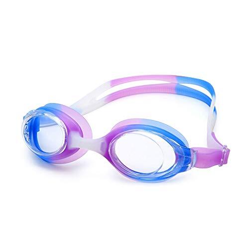 Eres el mejor Gafas de natación Planas Gafas Profesionales para Adultos Gafas de natación HD Equipo de natación Impermeable y antivaho Masculino Femenino Gafas para Deportes acuáticos
