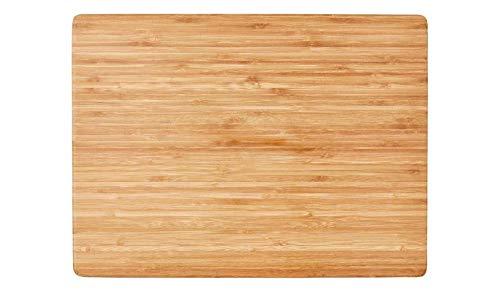 Messerbrett Holzfarben 35,0cm x 5,0cm Bambus-Tranchierbrett KHG Bambus