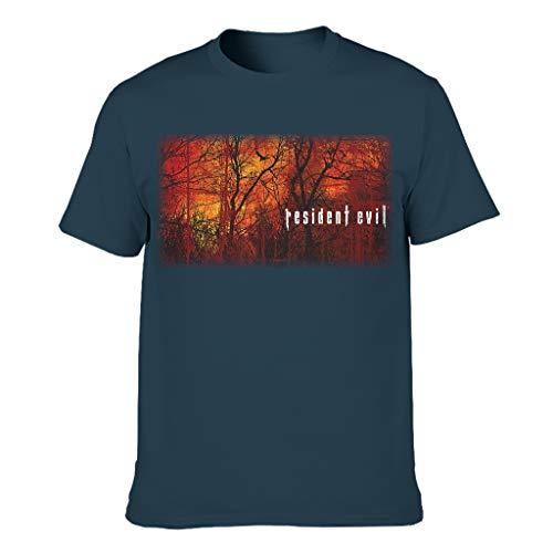 Neuheit Kurzarm-T-Shirt für Freund Freundin oder Familien Navy 4XL