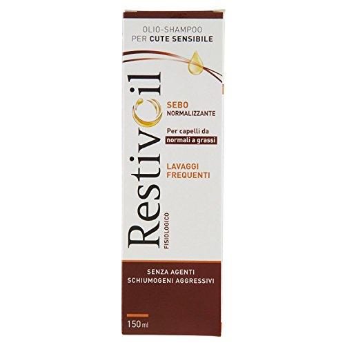 Restivoil Shampoo Sebo Normalizzante, 150ml