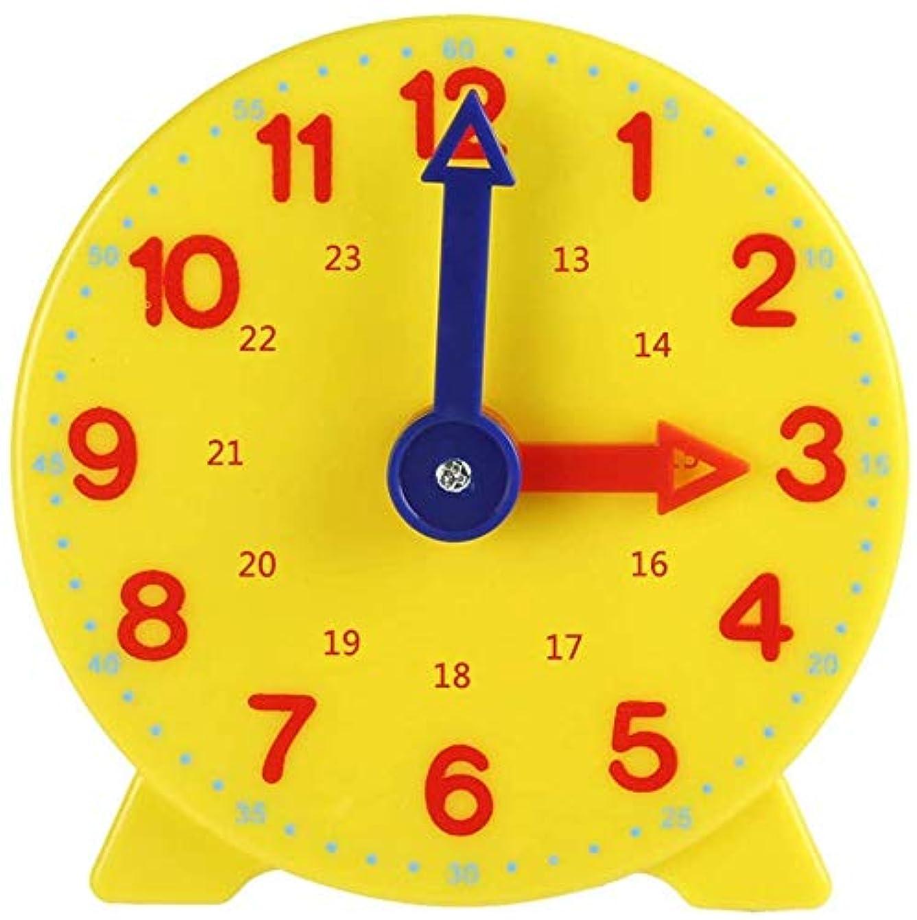 なめらか宇宙の適合しました学習時計 子供用掛け時計 教室用 生徒用 アクティビティガイド付き 赤ちゃん 知育玩具 ラーニング リソーシズ 時計の学習ができる学習用時計 幼稚園 時間を学べる算数教材として活用可能 ギフト