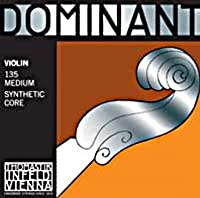 Dominant ドミナント 4/4バイオリン弦Weich(ソフトテンション) Dominant 4/4 Violin String Weich (2番線 A線 131 Weich (ペルロン/アルミ巻))