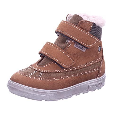 RICOSTA Jungen Boots Pedro von Pepino, Weite: Weit (WMS),Sympatex,terracare,Winterboots,Outdoor-Kinderschuhe,Curry/Hazel (262),26 EU / 8.5 Child UK