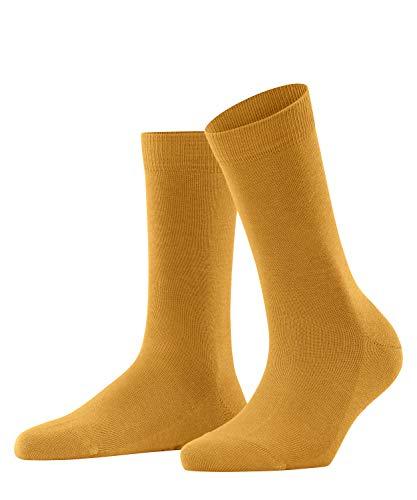 FALKE Damen Family W SO Socken, Gelb (Amber 1851), 39-42 (UK 5.5-8 Ι US 8-10.5)
