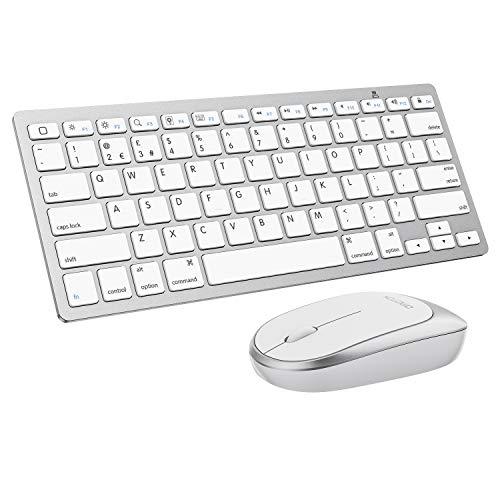 tastiera bluetooth tablet OMOTON Tastiera Bluetooth e Mouse-Layout Inglese