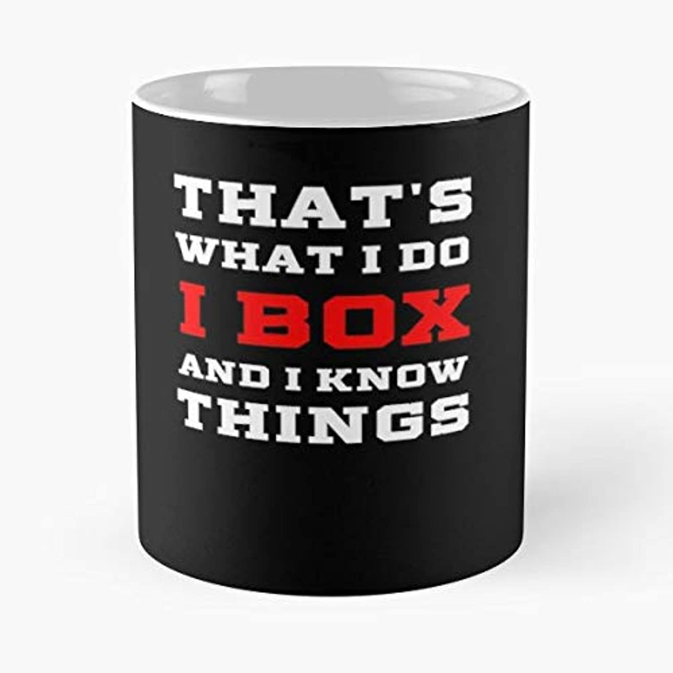 Boxing Boxer Gifts For Men Women - Funny Gifts For Men And Women Gift Coffee Mug Tea Cup White 11 Oz.the Best Holidays.