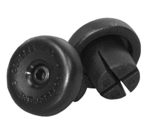 ODI H-231-BK - Tappi per manopole Bar Odyssey, Colore: Nero, 22,2 mm