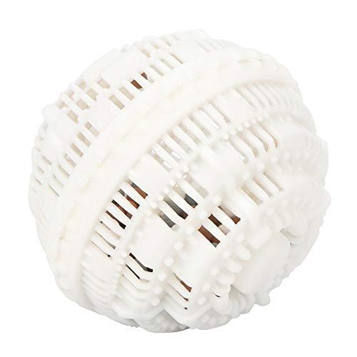 Lavadora Bola de lavandería mágica, Bola de limpieza de ropa, Bola de limpieza de ropa ecológica, para lavar ropa de viaje en casa(white)