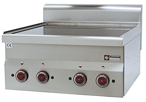 Modular Elektroherd 4 Cerankochflächen - Tischgerät (ohne Unterbau) - Gastlando