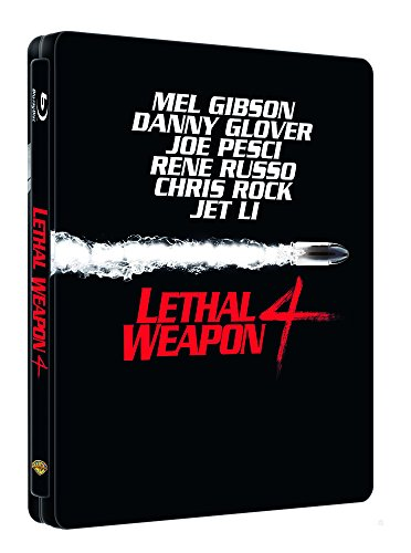 L'Arme fatale 4 - Édition Limitée SteelBook - Blu-ray [Blu-ray + Copie digitale - Édition boîtier SteelBook]