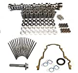 BTR Brian Tooley Twin Turbo Stage 2 Cam Includes Springs, Pushrods and Gasket Kit 4.8 5.3 5.7 6.0 6.2 LS1 LS3 LSX (Camshaft, Springs/Titanium Retainers, Gasket Kit)