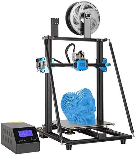 Comgrow Creality Impresora 3D CR-10 V3, con Extrusora de Accionamiento directo de titanio, Placa Base Silenciosa, Fuente de Alimentación Meanwell y Tamaño de Impresión Grande 300x300x400mm