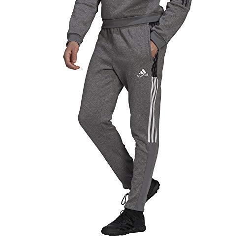 adidas mens Tiro 21 Sweatpants Grey Melange Medium