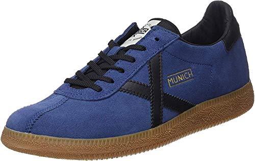 Munich Unisex Barru Sneakers, Blau (Azul/Negro 34), 44 EU