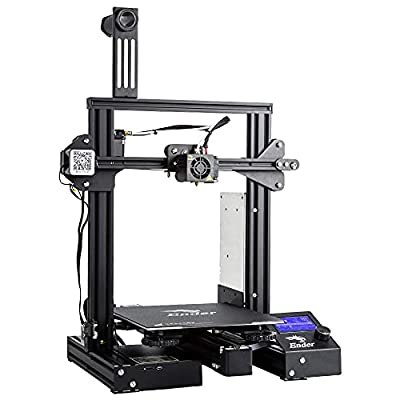 Official Creality Ender 3 Pro 3D Printer with Removable Build Surface Plate and UL Certified Power Supply 220x220x250mm