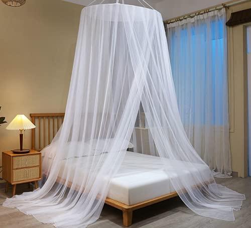 Moustiquaire de lit, Grande moustiquaire Lits Simples et Dou
