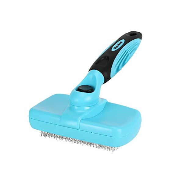 Pet Neat Self Cleaning Slicker Brush Effectively Reduces Shedding by Up to 95% –...