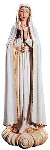 Holzfigur Madonna von Fatima coloriert - Schnitzereien Dolfi