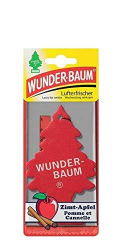 wunder-baum zimt-apfel Auto Lufterfrischer–Papier, Auto, Rot)