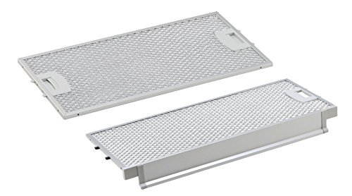 Kombipack Siemens/Bosch metall-fettfilter 434105/00434105 (455x188mm) / 434107/00434107 (415x208mm) passend für LI46630 von AllSpares