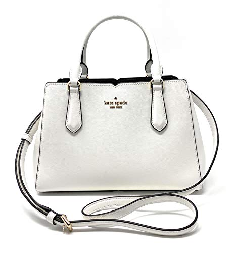 Kate Spade New York Tippy Small Triple Compartment Satchel (Optic White)