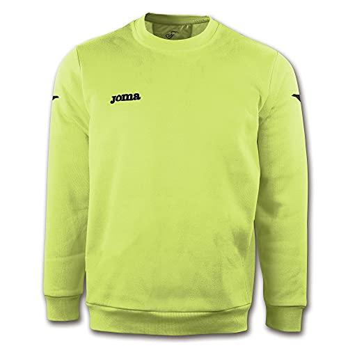 Joma Cairo Sweat-Shirt pour Enfant, Fille, Maillot de survêtement, 6015.11.02.12, Vert Fluo - 11, 14