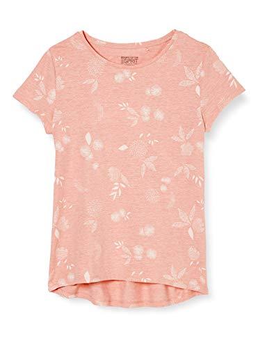 ESPRIT Damen 040EE1K397 T-Shirt, 840/PEACH, L