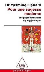 couverture du livre pour une sagesse moderne Yasmine Liénard