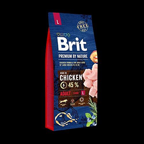 Brit Premium by Nature Adult L 15kg Hundefutter Trockenfutter
