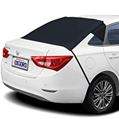 ALL WEATHER: Rear windshield guard provides full coverage – Canvases the entirety of your rear windshield and fits most cars, trucks, vans, and SUV's - To ensure proper fitment, please take an accurate measurement of your rear windshield ULTIMATE WIN...