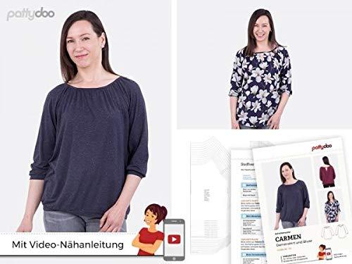 pattydoo Schnittmuster Damenshirt & Bluse 'Carmen'