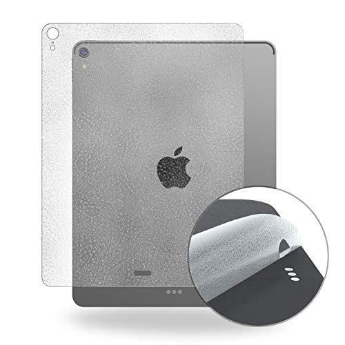 【3枚セット】iPad Pro 12.9 2018 背面フィルム「革風」高級感 Smart Keyboardと併用 背後 全面保護フィルム 伸縮ソフト素材 衝撃を緩和 キーズ汚れ指紋防止 気泡ゼロ